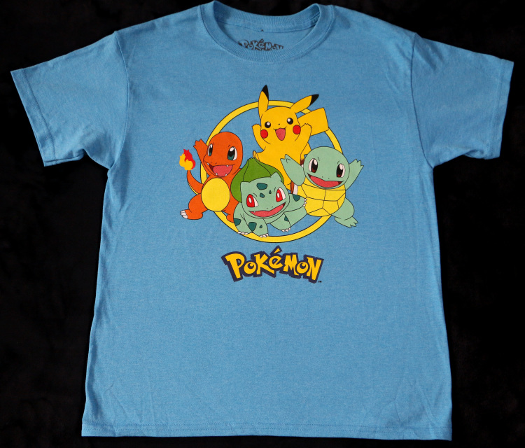 ed2784122 Your little boy will love this Pokemon graphic t shirt with all his  favorite characters on it!